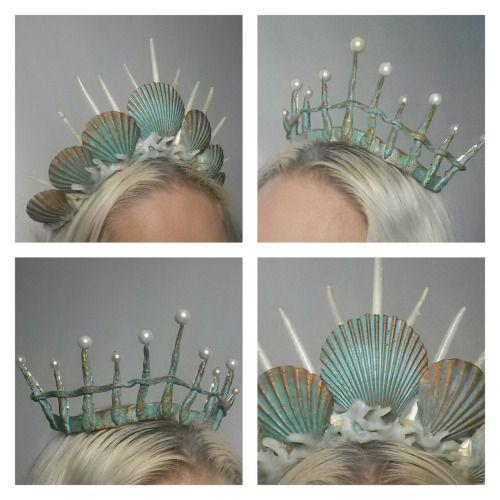 fairytas:! Mermaid crowns Www.etsy.com/shop/Fairytas