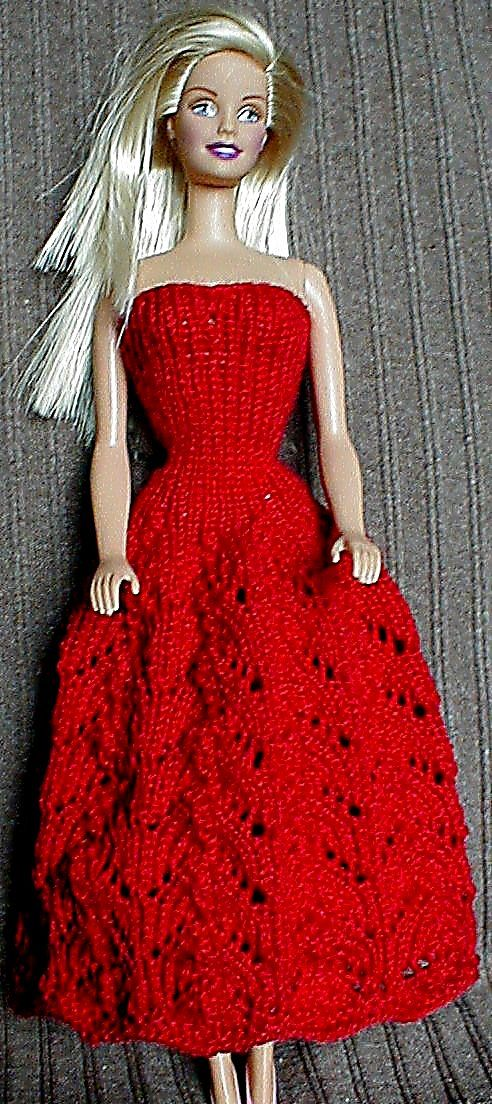 Free Barbie Knitting Patterns : Barbie Dress 05 Barbie Knitting & Makes Pinterest Knitting, Pattern...