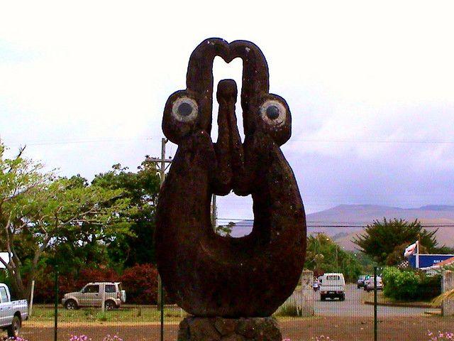Tangata manu ú Hombre pájaro