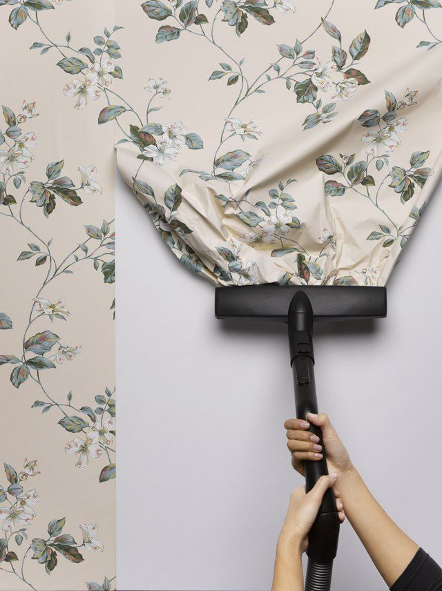 How To Strip Wallpaper Easily Hunker Stripped Wallpaper Removing Old Wallpaper Taking Off Wallpaper