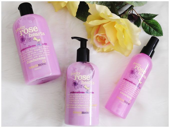 NEW IN: TREACLEMOON PRETTY ROSE HEARTS SHOWER GEL, BODY LOTION  & BODY SPRAY beauty | treaclemoon | pretty rose hearts | shower gel, body milk & body spray | duschcreme, körpermilch & körperspray | more details on my blog http://junegold.blogspot.de | life & style diary from hamburg | #beauty  #treaclemoon #prettyrosehearts  #showergel  #duschcreme #bodymilk #körpermilch #bodyspray #körperspray