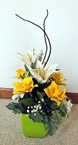 Roses & Lillies balloon fantasy flowers