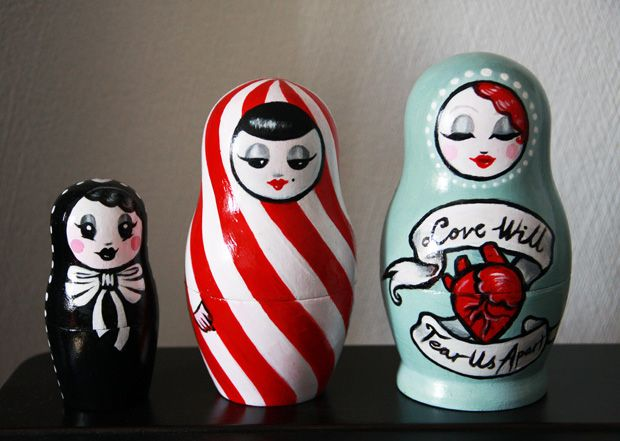 nesting dolls - Vicari Love will tear us apart again. . . ;-)