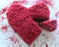 DIY idee voor Valentijn: maak een rode taart om verliefd op te worden! #pieceofmake