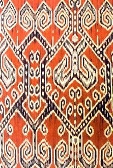 Pua Kumbu. Traditional hand weaved textiles of the Ibans in Sarawak, Malaysia. #pua