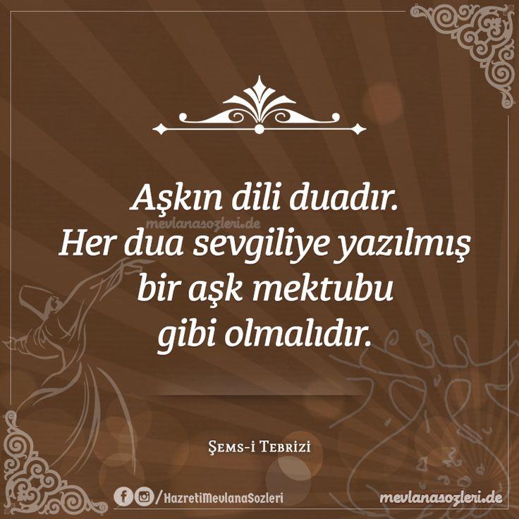 Instagram'a Özel Resimli Şems-i Tebrizi Sözleri...