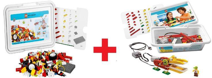 Lego Education Перворобот WeDo 9580 + ресурсный набор WeDo 9585
