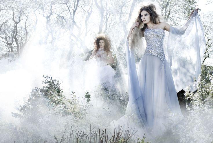 Woman&Bride Spring-Summer 2011 Shooting Fairy Tales Dress Marina Mansanta Alta Moda