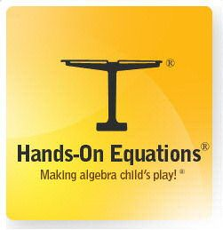 Hands-On Equations is a supplementary program. Uses a visual and kinesthetic approach to provide students with an algebraic foundation for algebra. Very cool. I think I may need to order this.
