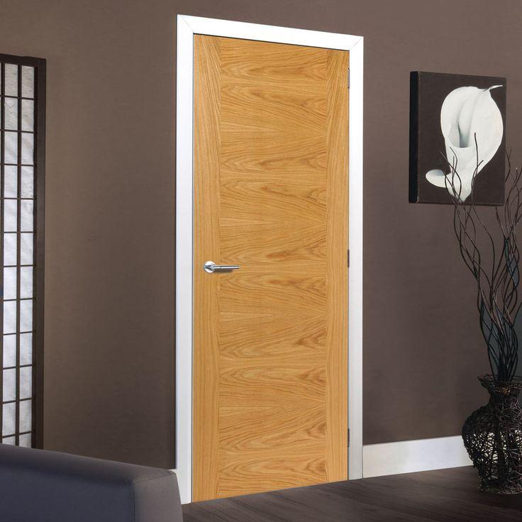 Brisa Ostria Flush Oak Veneered Door Is Pre Finished