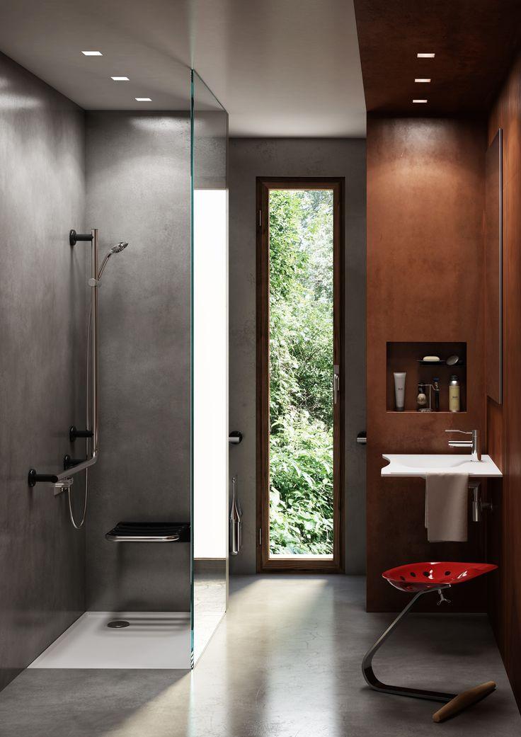 Oltre 25 fantastiche idee su bagno per disabili su for Bagno piccolo elegante
