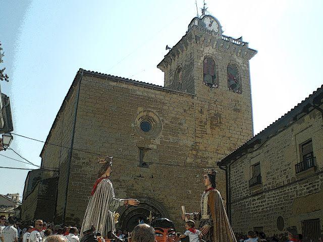 Santacara: Dia de la Virgen 15/08/2013