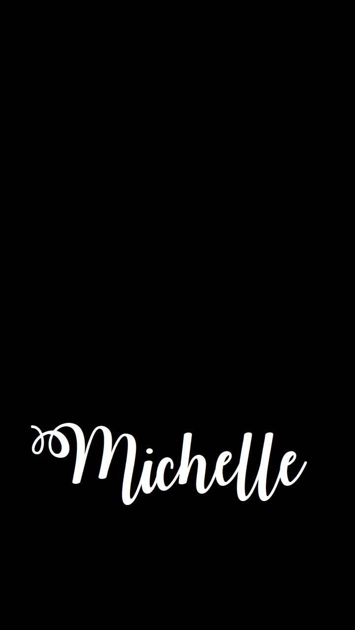 Download Michelle Wallpaper By Mhannerism 65 Free On Zedge Now Browse Millions Of Popular Cal Name Wallpaper Cute Desktop Wallpaper Calligraphy Wallpaper