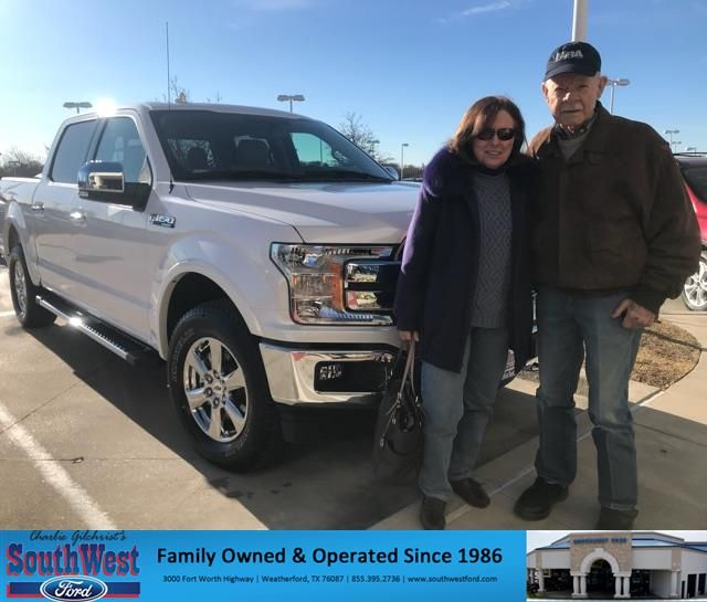 Congratulations Joe Terry On Your Ford F 150 From Kat Brownlee At Southwest Ford Https Deliverymaxx Com Dealer Ford Customer Testimonials Customer Review