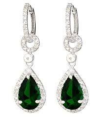 tear drop diamond earrings - Google Search