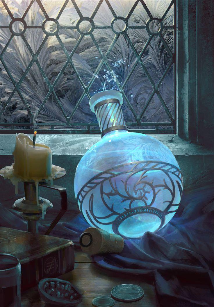 Jack Frost Elixir in 2020 Fantasy inspiration, Fantasy