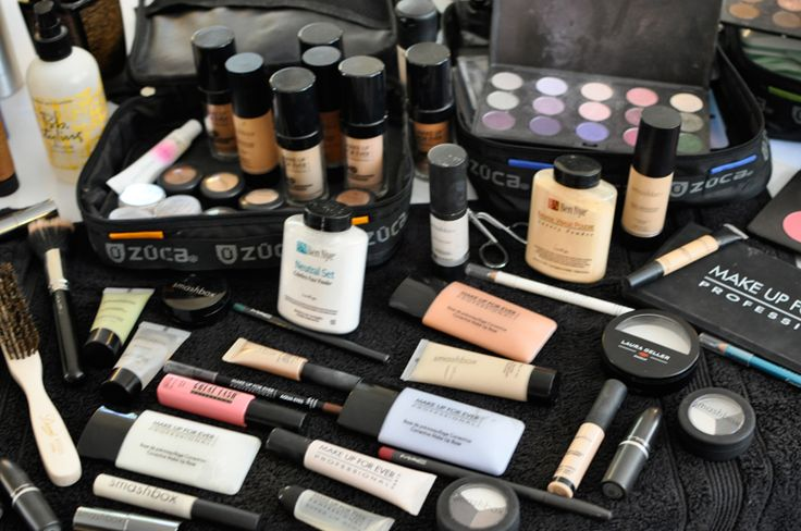 Kit maquillaje profesional completo