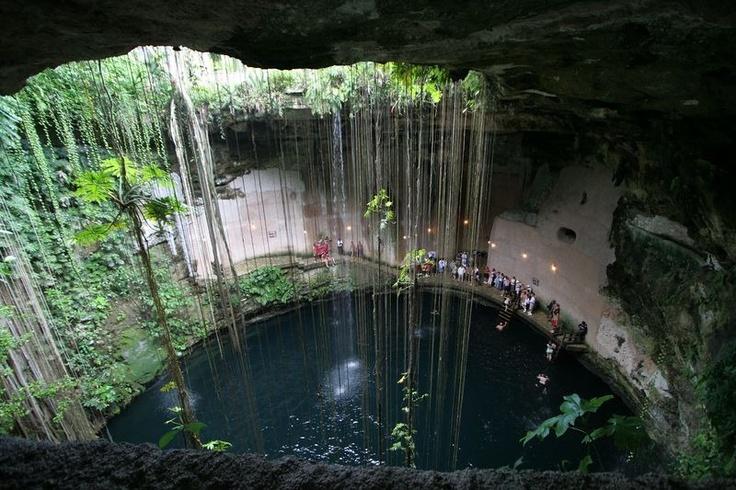 Cenote zaci, Yucatan