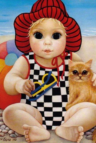 Margaret Keane Gallery - Big Eyes Artwork