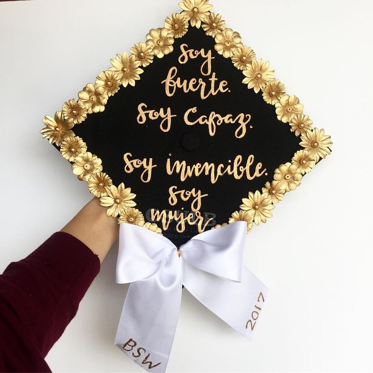 "12 Likes, 1 Comments - Kim's Custom Crafts (@kimscustomcrafts) on Instagram: ""I am strong. I am able. I am invincible. I am a woman. ✨ . . . #grad #gradcap #gradcaps…"""