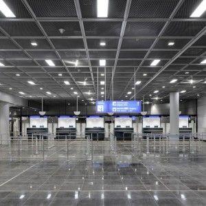 gmp – Architekten von Gerkan, Marg und Partner | Extension of gate A at Frankfurt airport