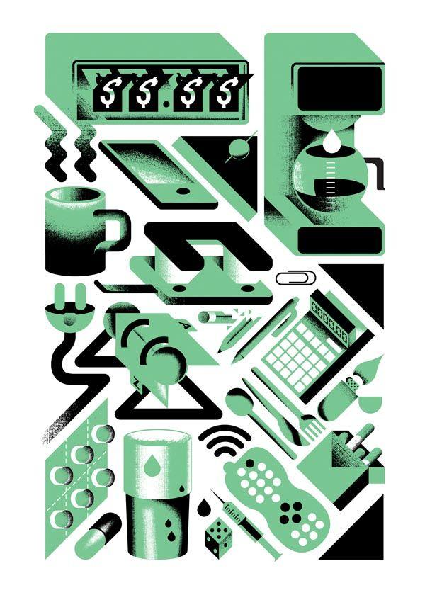 Personal Illustration by Aron Vellekoop León