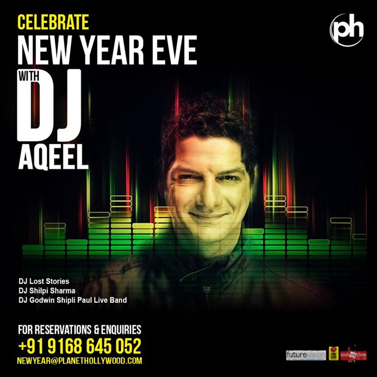 DJ AQEEL - We added one more reason for you to celebrate the #NewYear eve at #PlanetHollywood #BeachResort, #Goa.  Call: +91 9168645062 / 9168645063 for reservations.  #Party #Music #DJAqeel #DJParty #NewYearBash