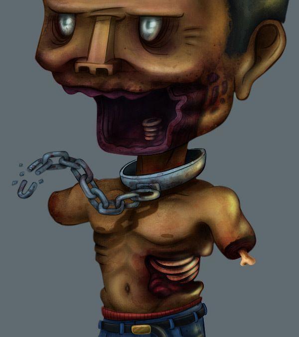 TWD Toon [Character design FAN ART] on Behance by Karlos Velásquez