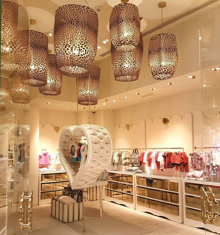 """ROBERTO CAVALLI JUNIOR, The Dubai Mall, United Arab Emirates, """"The experience of being born into luxury... Brand personification through retail design and vm"""", words/photo by Surender Gnanaolivu, pinned by Ton van der Veer"""