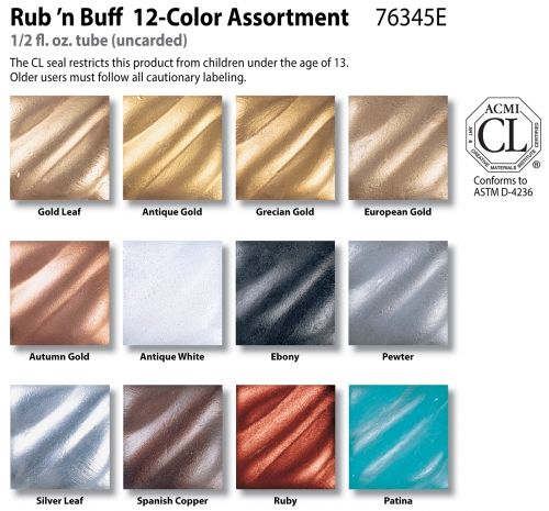 AMACO Shopping - Purchase Framing Supplies Rub n Buff Metallic Finishes products and accessories online at AMACO.com!