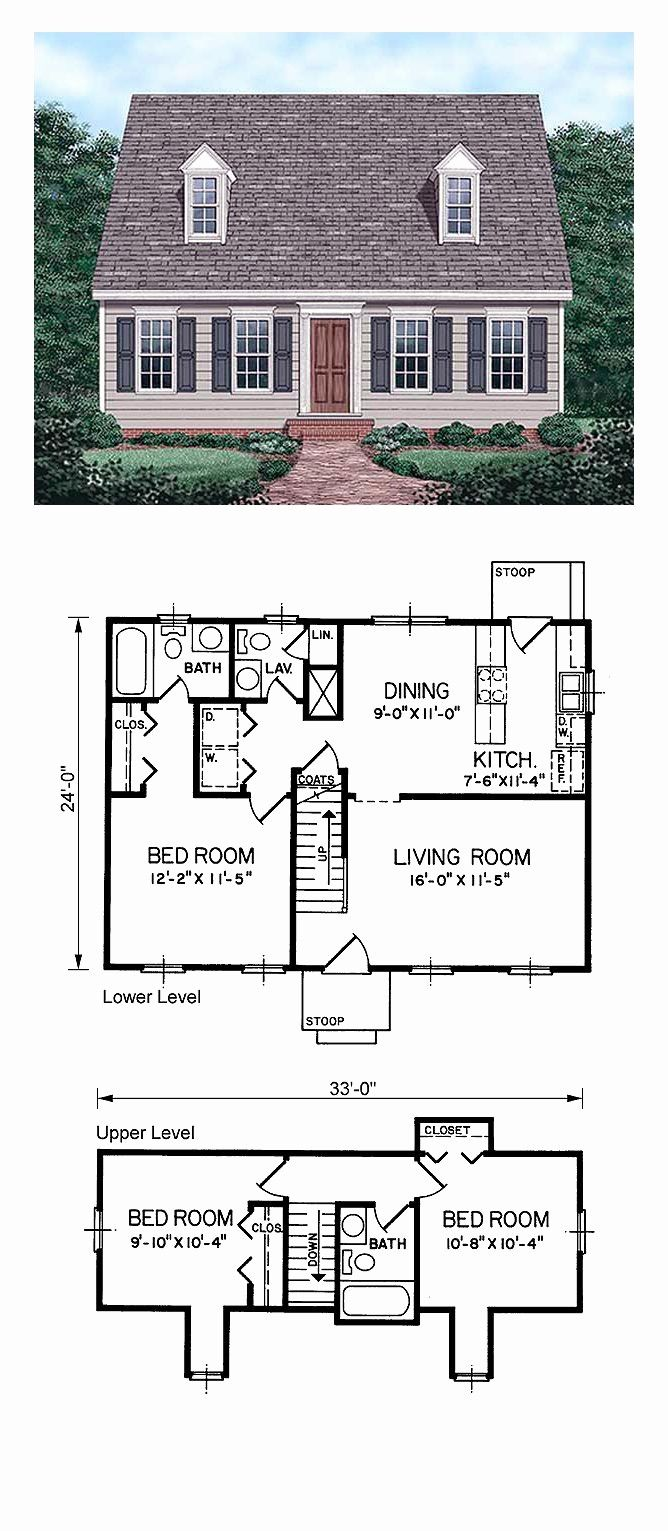 Cape Cod House Plans With Walkout Basement Fresh Small Cape Cod House Plans With Shed Dormers Design Nz Cape Cod Style House Cape House Plans Cape Style Homes
