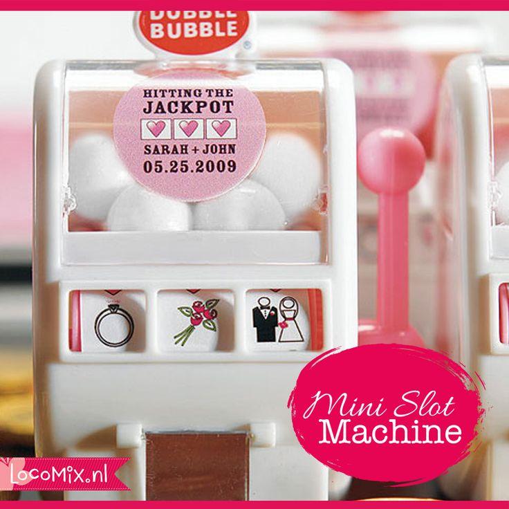 Mini Slot Machine huwelijksbedankjes – Bedankjes.nu