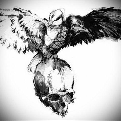 tattoo crow: 25 тыс изображений найдено в Яндекс.Картинках