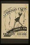 Adaptations of A Christmas Carol:   WPA poster, 1936–1941.   Main article: List of A Christmas Carol adaptations.   The story has been adapted to other media including film, opera, ballet, a Broadway musical (1979's Comin' Uptown, which featured an all African-American cast), a BBC mime production starring Marcel Marceau, and Benjamin Britten's 1947 chamber orchestra composition Men of Goodwill: Variations on 'A Christmas Carol.