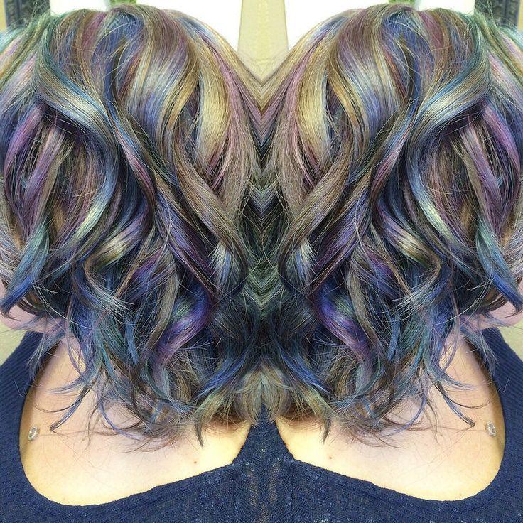 opal iridescent hair. www.ursulagoff.com Stuff that Urs ...