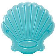Intex Inflatable Mermaid Seashell Island Pool Float