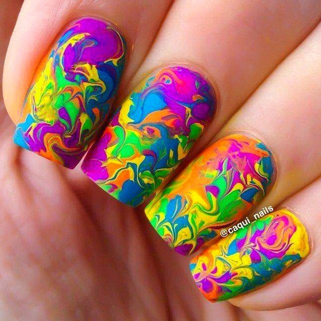 Best 25 water color nails ideas on pinterest watercolour nails nails water color nails prinsesfo Choice Image