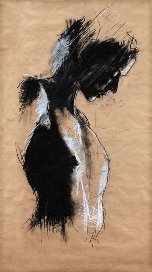 'Gorgo Spartan' by English contemporary artist Guy Denning.