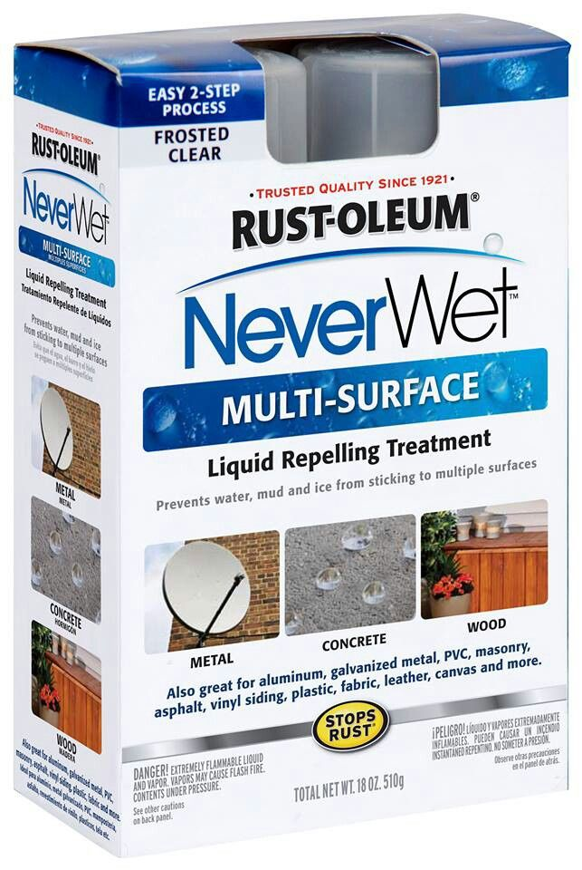 Never wet - check out the videos on You Tube... Makes almost anything water and stain proof! Shoes, clothing (think wedding dress!), furniture etc.
