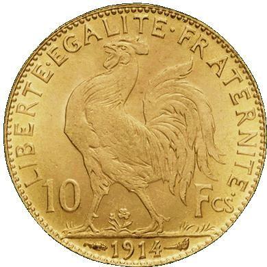 Pièce de 10 francs Napoleon en Or !