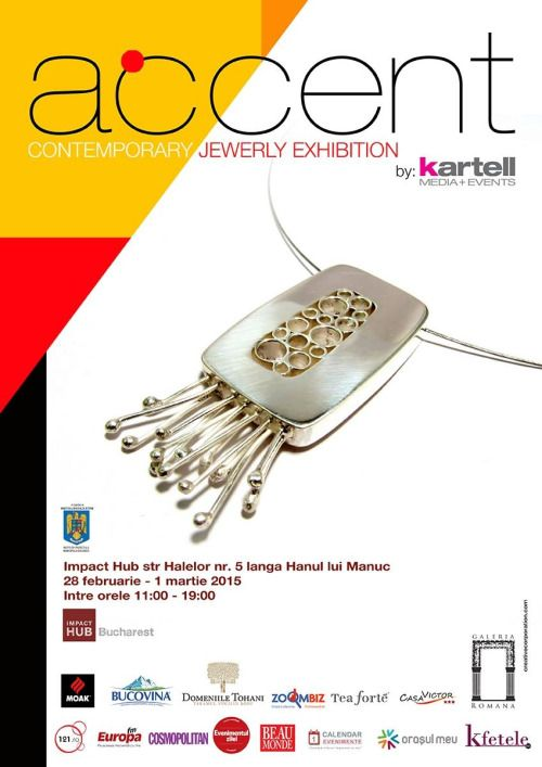 Expression Jewelry will be at ACCENT Contemporary Jewelry Exhibition - 28 February - 1 March
