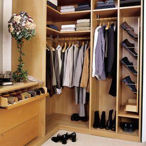 Built-in Shelving: Closet Idea