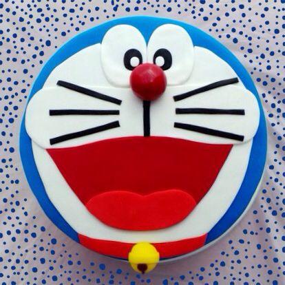 Doraemon cake- Tarta Doraemon