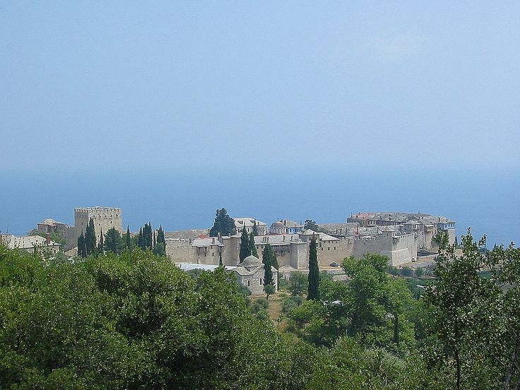 We ♥ Greece   Great Lavra monastery, Mount Athos #Greece #monastery #explore #travel