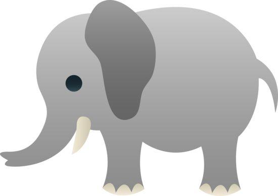 gray elephant free clip art - photo #18