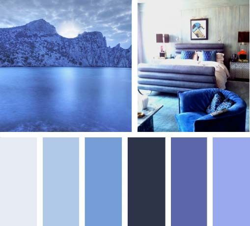 Azules de noche, un color profundo