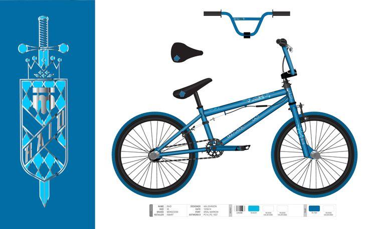 "20"" BMX bike for Mongoose (Raid)"