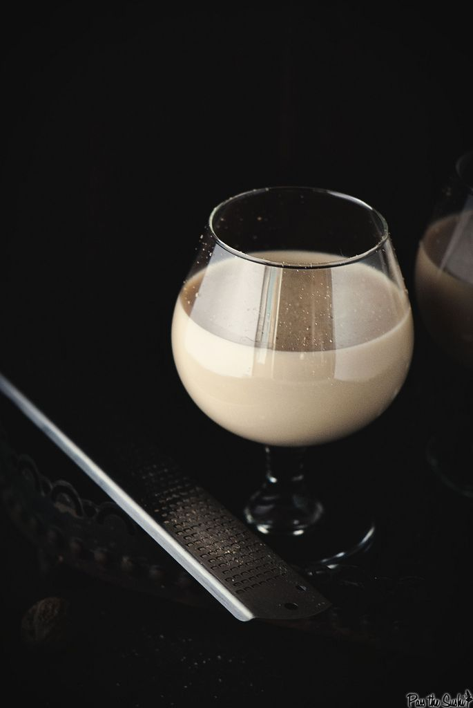 Brandy Alexander - Creme de Cacao, Brandy, Half and Half, Nutmeg.