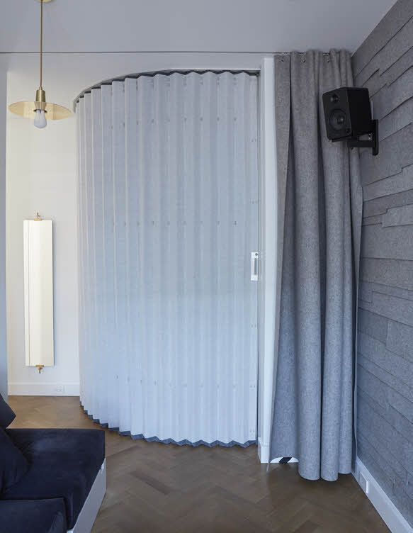 hufcor accordion wall u2013 instant visual and acoustic privacy