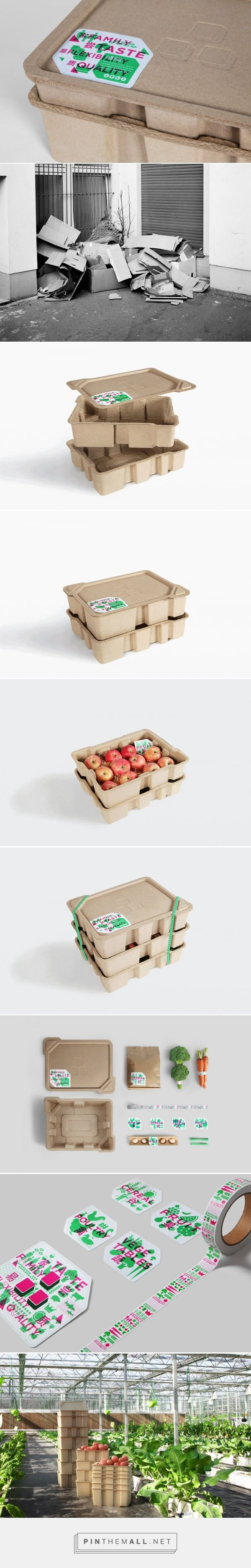 PIN - Clever Stackable Tray - packaging design by Sun Li - https://www.packagingoftheworld.com/2018/03/pin-clever-stackable-tray.html
